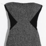 szara sukienka Orsay - moda jesienna