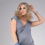 szara sukienka - wiosna 2012