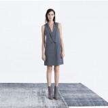 szara sukienka ZARA - moda na jesień 2013