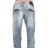 Szaro-jeansowe boyfriendy, 119.25 zł