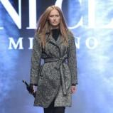 szary płaszcz Deni Cler - kolekcja jesienno-zimowa