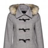 szary płaszcz New Yorker - jesień/zima 2011/2012