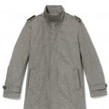 szary płaszcz Reserved - wiosenna kolekcja