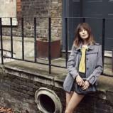 szary płaszczyk Vero Moda - jesień 2012