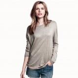 szary sweter H&M - jesienne trendy 2013