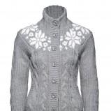 szary sweter New Yorker rozpinany - trendy na jesień-zimę