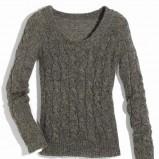 szary sweter Orsay - z kolekcji jesień-zima