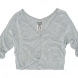 szary sweter Pull and Bear - wiosna-lato 2011