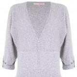 szary sweter Tally Weijl z kieszeniami długie - kolekcja jesienna