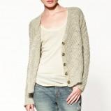 szary sweter ZARA - jesień/zima 2011/2012