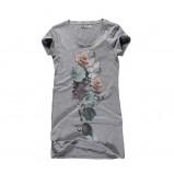 szary t-shirt Big Star z nadrukiem - kolekcja wiosenna