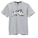szary t-shirt Cropp - kolekcja jesienna