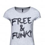szary t-shirt New Yorker - wiosna/lato 2011