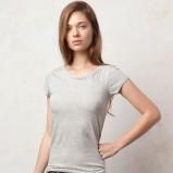 szary t-shirt Pull and Bear - kolekcja na lato