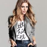 szary żakiet H&M - wiosna/lato 2012