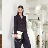 szerokie spodnie Christian Dior w kolorze czarnym - jesień i zima 2013/14