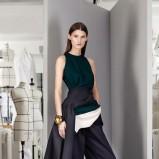 szerokie spodnie Christian Dior w kolorze czarnym - trendy 2013/14