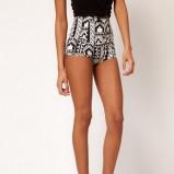szorty Asos w etniczne wzory - moda 2012