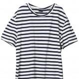 t-shirt H&M w paski - wiosna/lato 2011