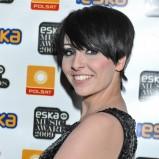 Tatiana Okupinik - czarne, krótkie włosy