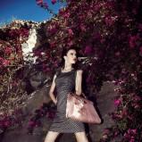 torebka Caterina w kolorze łososiowym