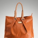 torebka Stradivarius w kolorze brązowym - modne akcesoria na jesień i zimę
