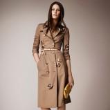 trencz Burberry w kolorze brązowym - moda 2014