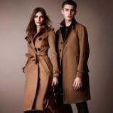 trencz Burberry w kolorze brązowym - moda na jesień 2012