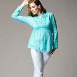 turkusowa bluzeczka (żeń) Heppin - wiosna/lato 2012