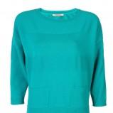 turkusowa bluzka Camaieu - wiosna/lato 2012