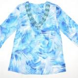 turkusowa bluzka Olsen - wiosna-lato 2012