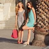 turkusowa sukienka Lidl - moda na lato
