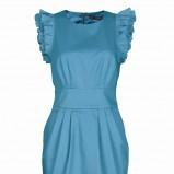 turkusowa sukienka Top Secret - lato 2011