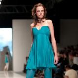 turkusowa tunika Natasha Pavluchenko - wiosna/lato 2012