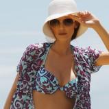 turkusowe bikini Feba we wzory - moda 2011