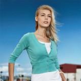 turkusowy sweter Greenpoint rozpinany - trendy wiosna-lato