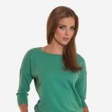 turkusowy sweterek Greenpoint
