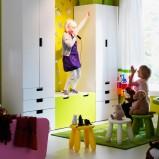 Twórcze meble pokój dziecięcy IKEA  -inspiracje 2013