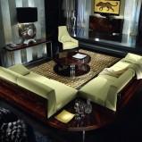 Unikatowy wypoczynek w kolorze jasnej zieleni -Patt Mebel 2013