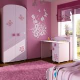 Uniwersalne meble dla dziewczynki  pokój dziecięcy Agata Meble  -trendy 2013
