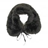 Urocza etola Pretty Girl w kolorze czarnym trendy na jesień i zimę 2012/13