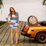 urocza sukienka Tatuum w pasy - moda na wiosnę i lato 2013