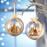 Urocze dekoracyjne bombki choinkowe  -Wigilia 2013
