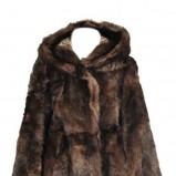 urocze futro Patrizia Pepe w kolorze brązowym - moda na jesień i zimę 2012/13