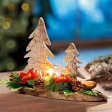 Urocze świeczniki z choinką  - inspiracje Weltbild
