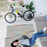Uroczy dywane w kolorze szarości o ciekawym kształcie -Kids Town na 2013