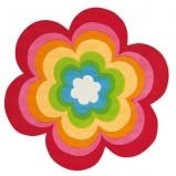 Uroczy kolorowy dywanik w formie barwnego kwiata -Kids Town na 2013
