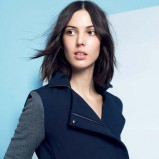 uroczy krótki płaszczyk Lacoste - moda 2013