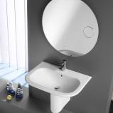 Urzekająca łazienka Roca w stylu klasycznym w kolorze szarości
