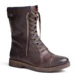 Urzekające buty Tommy Hilfiger brązowe wiązane  na jesień i zimę 2012/2013